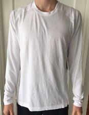 Lululemon Mens Size XL Metal Vent Tech LS White HWHT Long Sleeve Run Yoga NWT