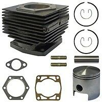 Yamaha G1 Engine Rebuild Kit (2-cycle) Golf Cart Top End Piston/Cylinder/Gasket