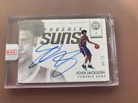 2017-18 Panini - Encased Basketball: Josh Jackson Rookie Auto Card #/99 - Suns