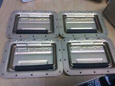 4 Aluminium Sprung Handles, Flight Case, Cabinet, Chest, trunk Case