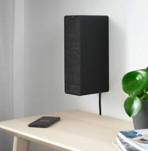 IKEA Symfonisk wireless Bookshelf speaker - unused, boxed & sealed. Colour BLACK