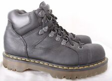 Dr. Martens Doc 10963 Black 8 Eye Stitched Work Boot Men's UK 7 US 8 Women's 9