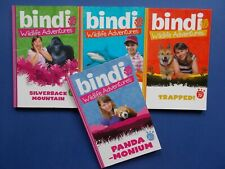 ## BINDI WILDLIFE ADVENTURES x 4 - BINDI IRWIN - AUSTRALIA ZOO - STEVE