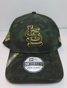 St. Louis Cardinals MLB Armed Forces Day 3930 New Era Salute to Service Cap Hat