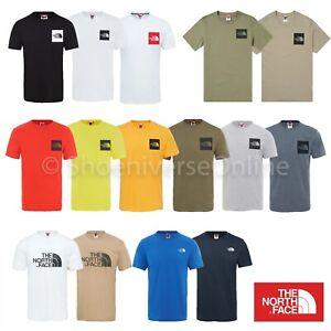 Men's The North Face TNF Short Sleeve Tee Cotton T Shirt Crew Neck 3 Styles