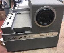 AIREQUIPT - Superba 77 - VINTAGE Slide Projector - Parts or Repair - Remote
