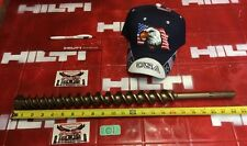 """Hilti Bit Sds Max 1-1/2"""" X 22-1/2"""" Preowned, Good, Free Extras, Fast Shipping"""