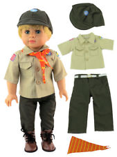 "Boy Scouts Pant Outfit Fits 18"" American Boy or Girl Doll Clothes"