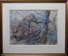 CLAUDE BENDALL 1871-1970 BRITISH IMPRESSIONIST ART PAINTING KENT WOODED LANDSCAP