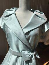 Willow Glen Light Blue Evening Dress Sash-Wedding, Baptism, Graduation - Size 8