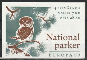 Europa cept 1999 Schweden MH 254 **
