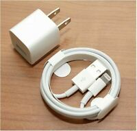 OEM original Apple iPhone USB Cable 3FT Charger 11 XS Max X 8 7 (CUBE+CHARGER)