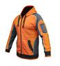 Hi Vis Jumper Jacket Hoodie Panel with Piping Fleece Full Zip AS/NZS 4602.1:2011