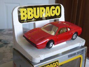 Burago- 1/24 Scale Ferrari 308 GTB In Red  - cod. 0148 - Diecast Metal Model