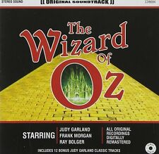 THE WIZARD OF OZ NEW CD SOUNDTRACK MUSIC JUDY GARLAND FRANK MORGAN RAY BOLGER