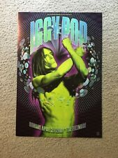 Iggy Pop Fillmore Concert Poster F457 San Francixco 2001