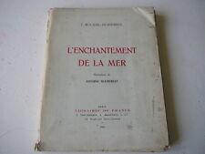 F Roussel-Despierres L'Enchantement de la Mer illustrations A Bourdelle 1923