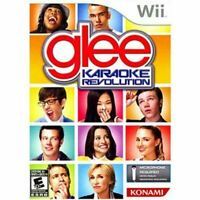 Karaoke Revolution Glee (Mic Not Included) - Nintendo Wii game Authentic