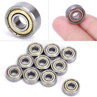 10pcs 693ZZ Miniature Carbon Steel Ball Bearings Small Double Shielded Bear Ty