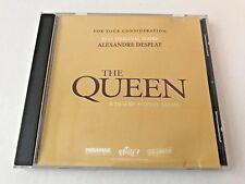 The Queen, FYC Best Original Score, music by Alexandre Desplat, CD, 2006, 15 trk