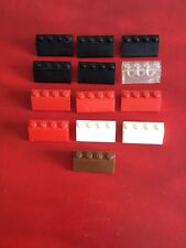 Brick Curved 1x2 Slope Nuovo New 4 x lego 11477 Mattoncini Curvo Blu Blu