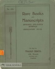 Maggs / Rare Books & Manuscripts Armorial And Other Bindings Association Items