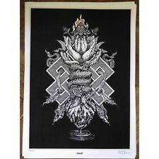 Gorguts Tibet Serigraphy Art Print Death Obscura Deathspell Omega Portal