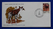 Congo (453) 1978 Endangered Animals - Okapi WWF FDC