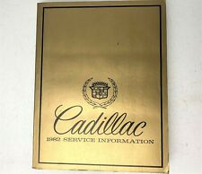 1982 Cadillac Service Information Manual OEM Shop Repair Factory GM Paperback