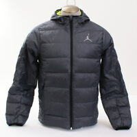 d7dd3d8b2fd9 Nike Jordan Jumpman Hyperply Gray 700 Fill Down Hooded Puffer Jacket Men s  NWT