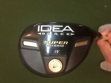 "New! Tour Issue Adams IDEA Black Super Hybrid RH 19* Fubuki X-Flex  41"" Spined!"