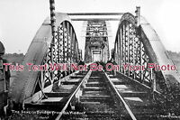 GL 67 - The Severn Railway Bridge From The Viaduct, Gloucestershire - 6x4 Photo