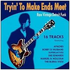 TRYIN' TO MAKE ENDS MEET Various  NEW & SEALED  FUNK SOUL CD (GOLDMINE) R&B RARE