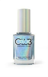 Color Club Holographic Nail Lacquer Blue Heaven 979