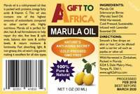 100% All Natural Marula Oil (For skin and hair)
