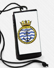 HMS TORQUAY PHONE CASE/POUCH ALSO GOOD FOR SUNGLASSES