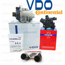 OEM Electric Engine Water Pump + Bolts & OEM Thermostat + Hose Therst to W/P