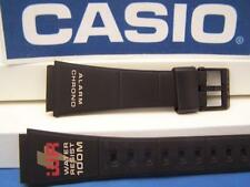 Casio Watch Band W-721 Black . Original Two-Piece Strap/Watchband/Resin 20mm