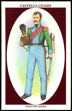 French 5th Lancers #11 Soldiers Of Waterloo Castella Trade Card (C271)