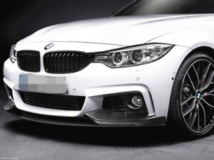 M-Performance Style Carbon front lip FOR Bmw 4 series F32 F33 F36  Msport bumper