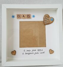 Personalised Photo Picture Frame - Dad Daddy Grandad Fathers day Birthday