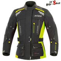 "Büse ""Highland"" Damen-Motorradjacke in Größe 36 38 40 oder 42, Schwarz-Neongelb"