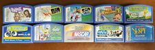 Lot of 10 Leapfrog Leapster Cartridge Games Learning Educational   B