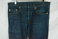 Dior Homme Blue Denim Jeans Pants Skinny Raw MIJ 31 32 34 SAINT LAURENT PARIS