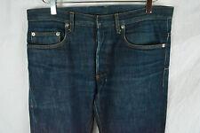Dior Homme Blue Denim Jeans Pants Skinny Raw MIJ 31 32 34 SAINT LAURENT PARIS