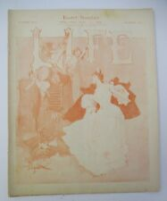 Apr.11,1895 LIFE Magazine, Humor, Satire, Politics, Easter, Victor Bicycle Ad