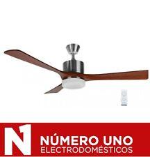 Ventilador techo Orbegozo Cp-97132 3 vel 3 palas madera natural