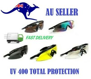 Tactical Shooting Glasses UV 400 Hunting Clay  Range Airsoft Army Military