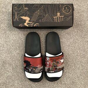 NEW Derschutze Slides US 12 (EU 46) - Deadstock 100% OG Sandals Slide Slippers