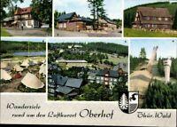 Ansichtskarte PK Oberhof Thüringen Wanderziele Luftkurort Mehrbild ungelaufen